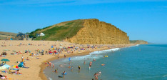 Large Cracks Appearing in Dorset Coastline