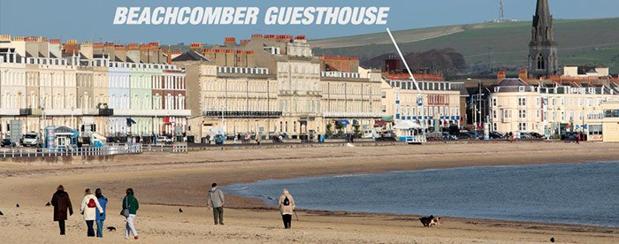 Beachcomber Guesthouse Weymouth Location