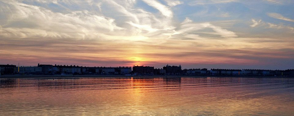 Guest House Weymouth Stunning Sunsets